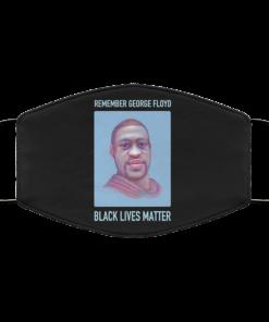 remember-george-floyd-black-lives-matter-face-mask-reusable-washable