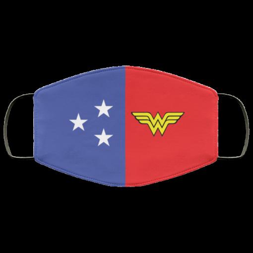 Wonder Woman Face Mask Reusable Washable 155098