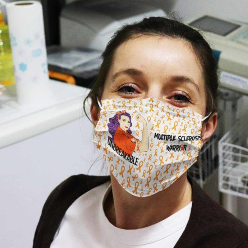 multiple-sclerosis-awareness-unbreakable-face-mask-reusable-washable