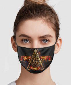 Faith Hope Charity Face Mask