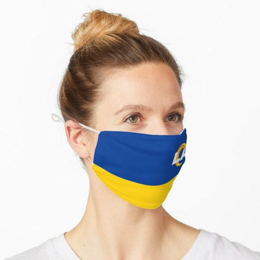Los Angeles Rams Pattern Face Mask