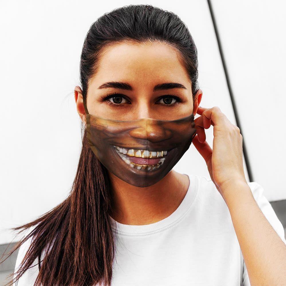 Mane Real Teeth Face Mask