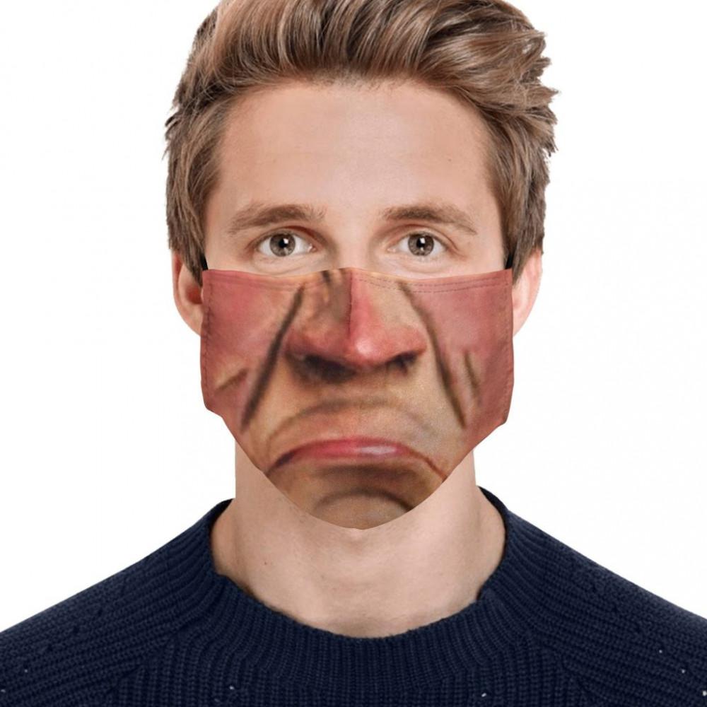 Jeff Dunham K Walter Face Mask