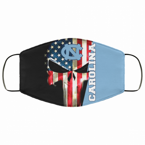 North Carolina Tar Heels Punisher Face Mask 162532