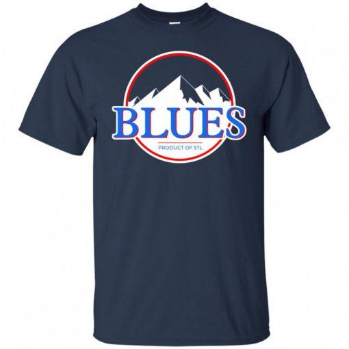 Blues Busch Shirt St Louis Blues Hockey Mountains Shirt