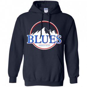 Blues Busch Shirt St Louis Blues Hockey Mountains Hoodie