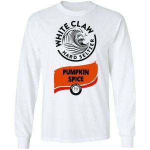 White Claw Halloween Costume Pumpkin Spice Shirt